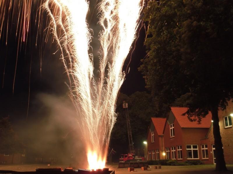 Feuerwerk Vredener Kirmes 2011