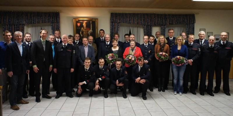 Feuerwehr Vreden Gruppenfoto